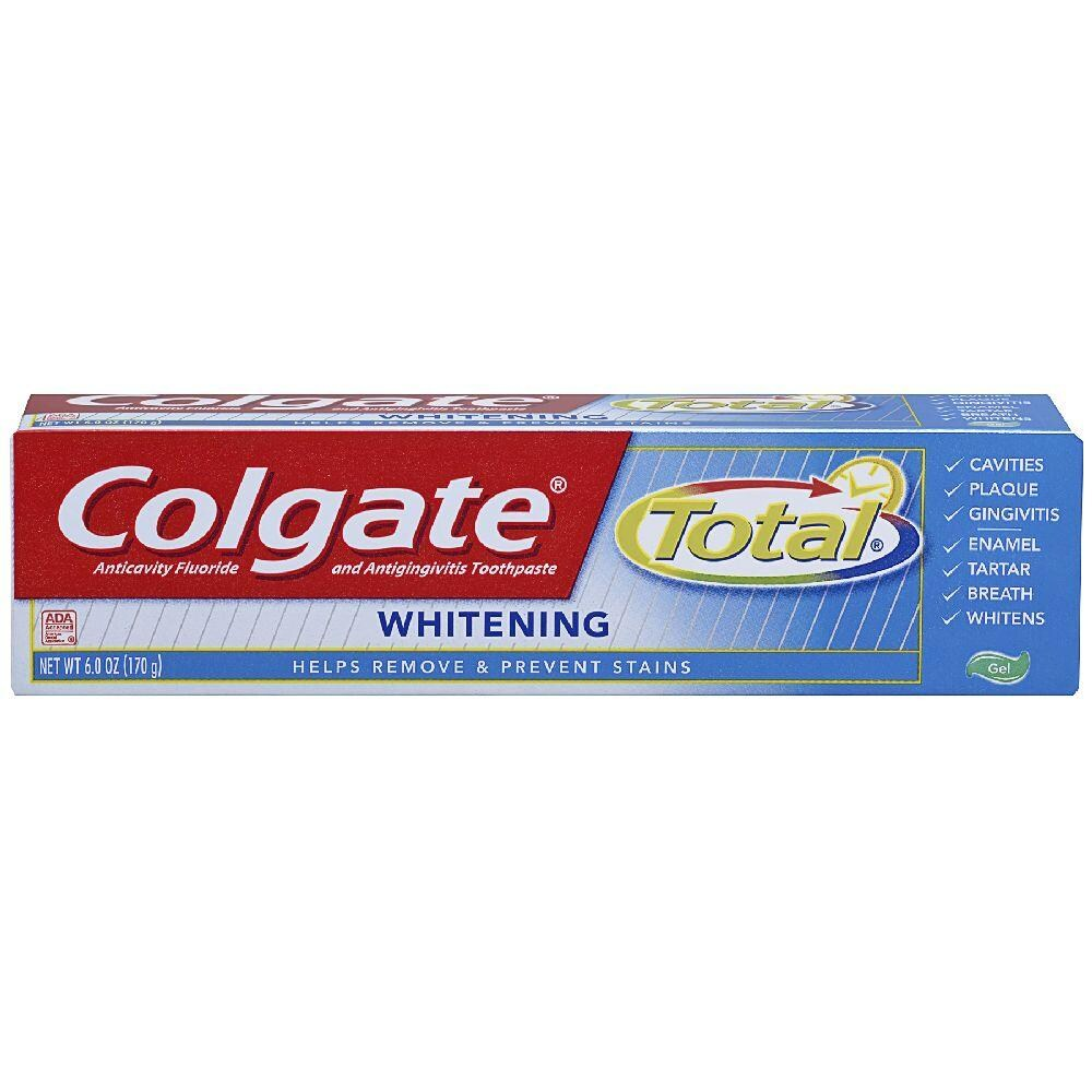 COLGATE TOTAL WHITENING 6.3 oz