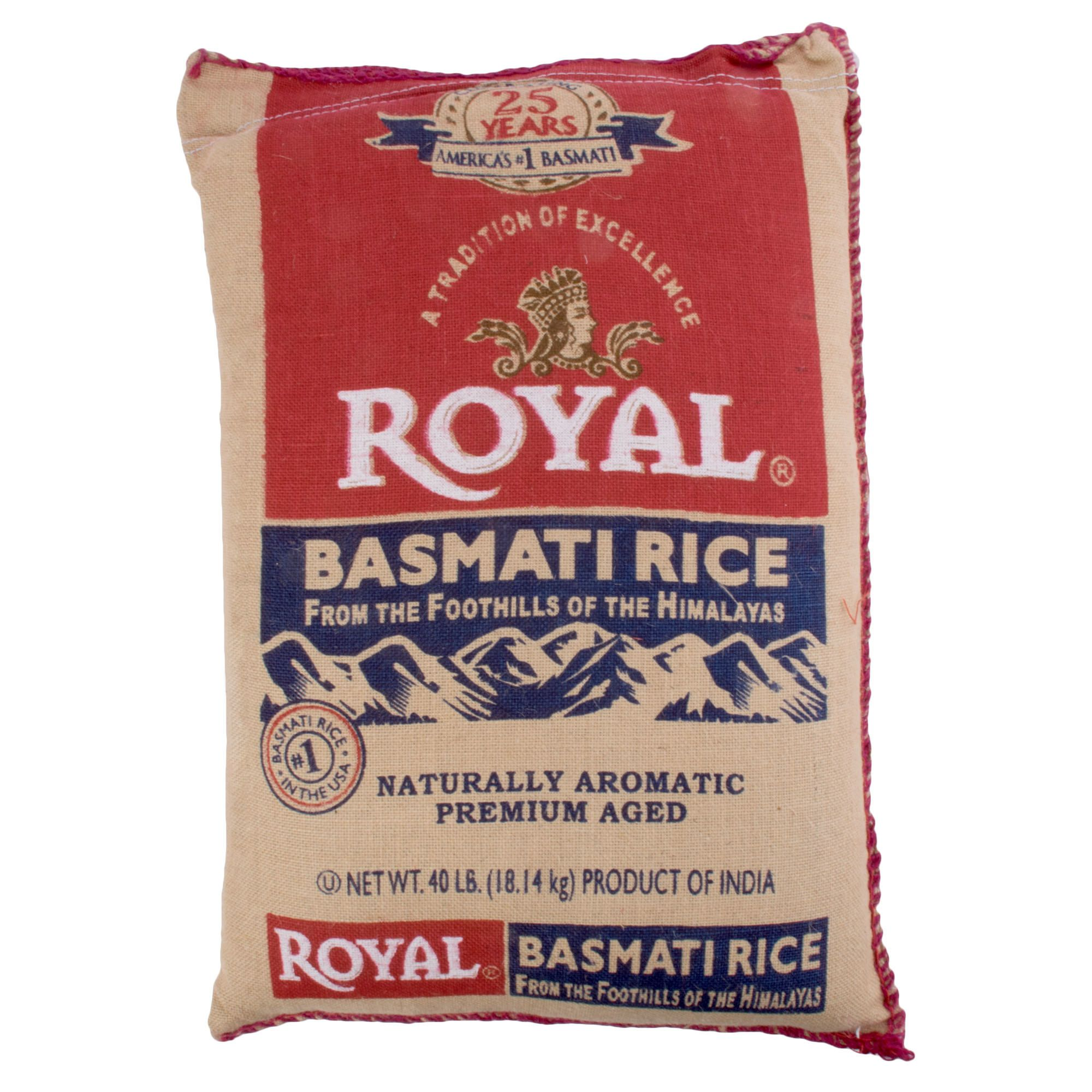 ROYAL BASMOTI RICE 40lb