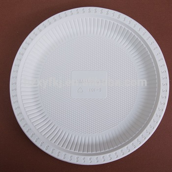 HB 8 PLASTIC DISPOSABLE PLATES 10.25 inch