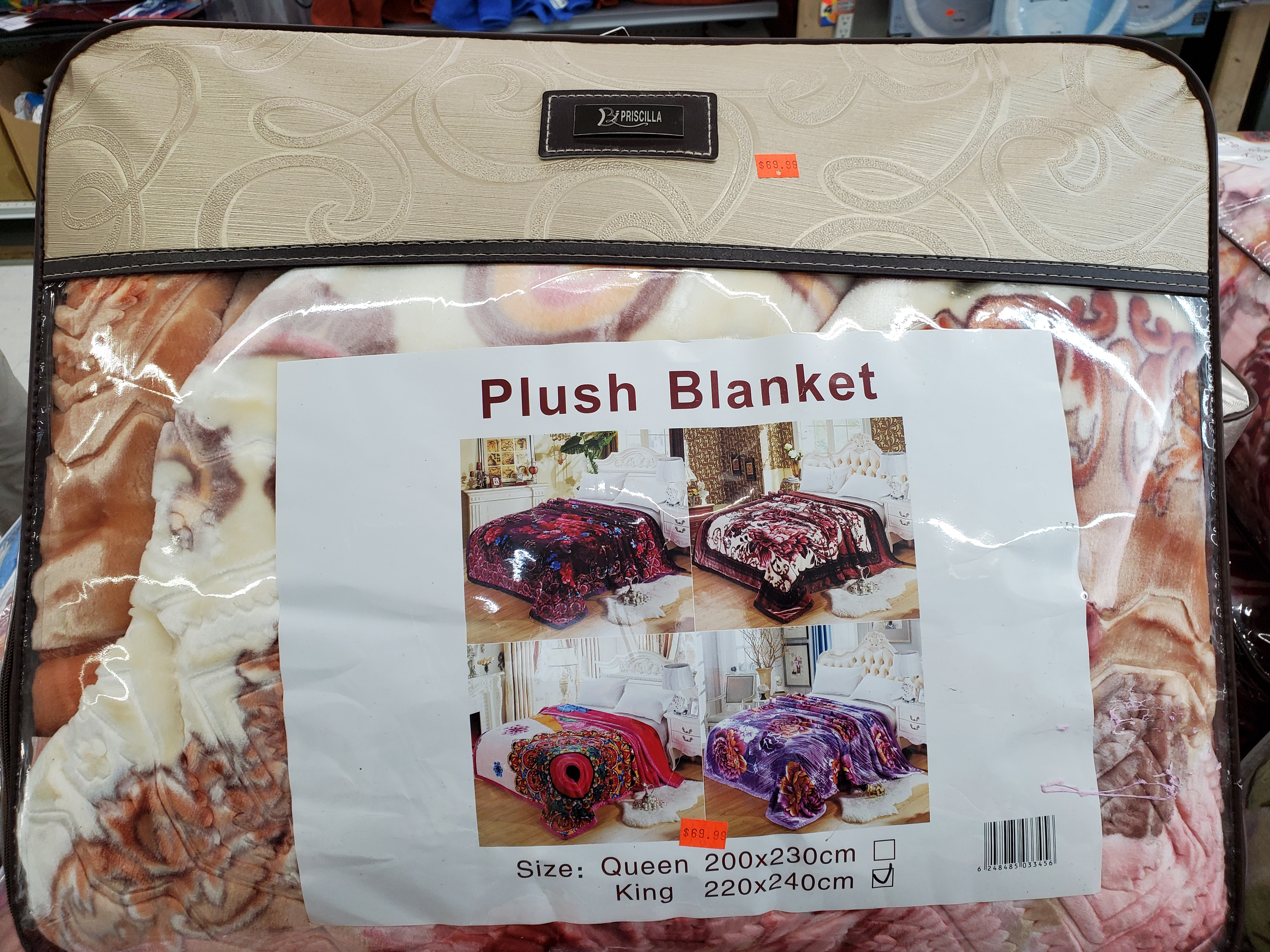 Plush Blanket King Size