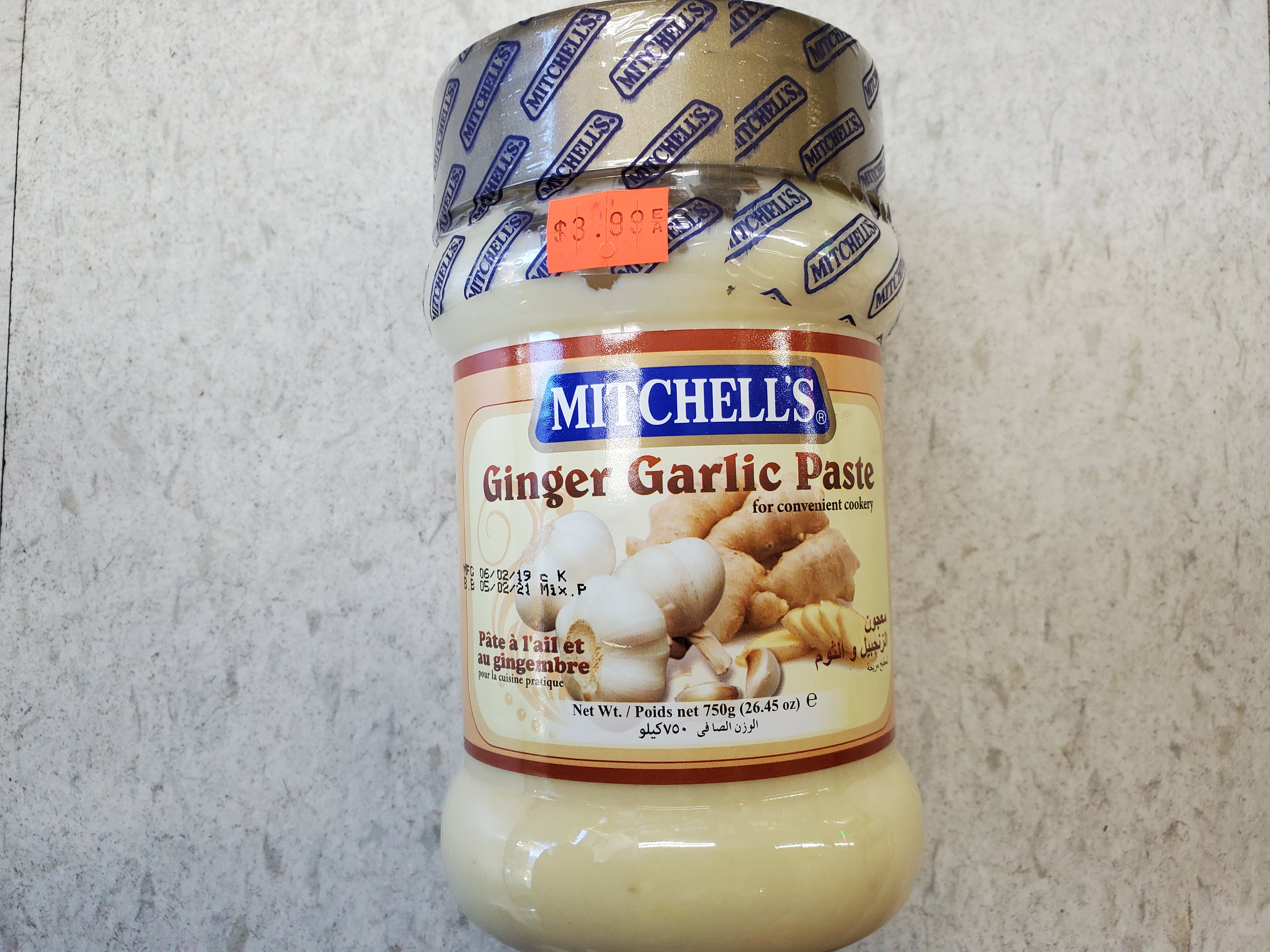 MITCHELL'S Ginger Garlic Paste