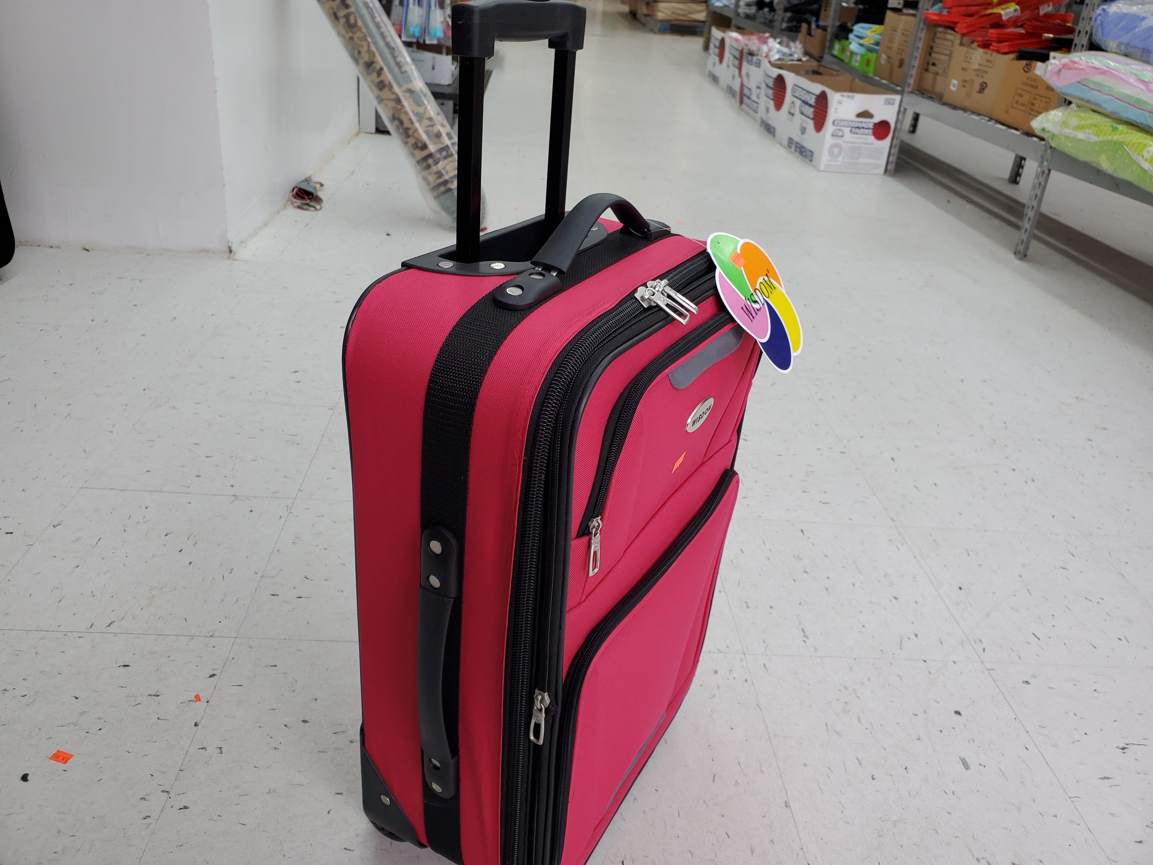 "Wisdom Luggage Size 20""- RED"