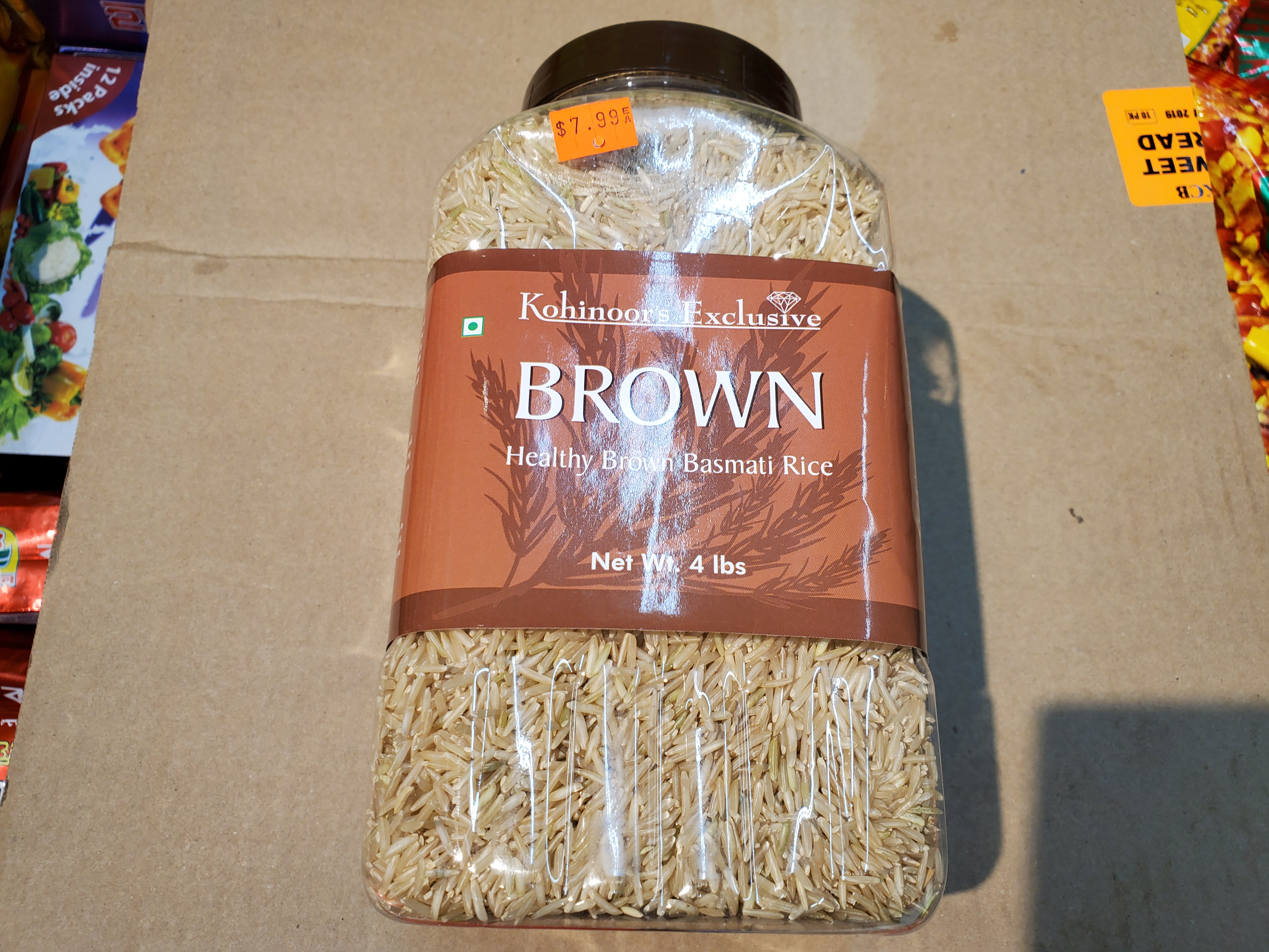 Kohinoor's Exclusive Brown Rice 4lb