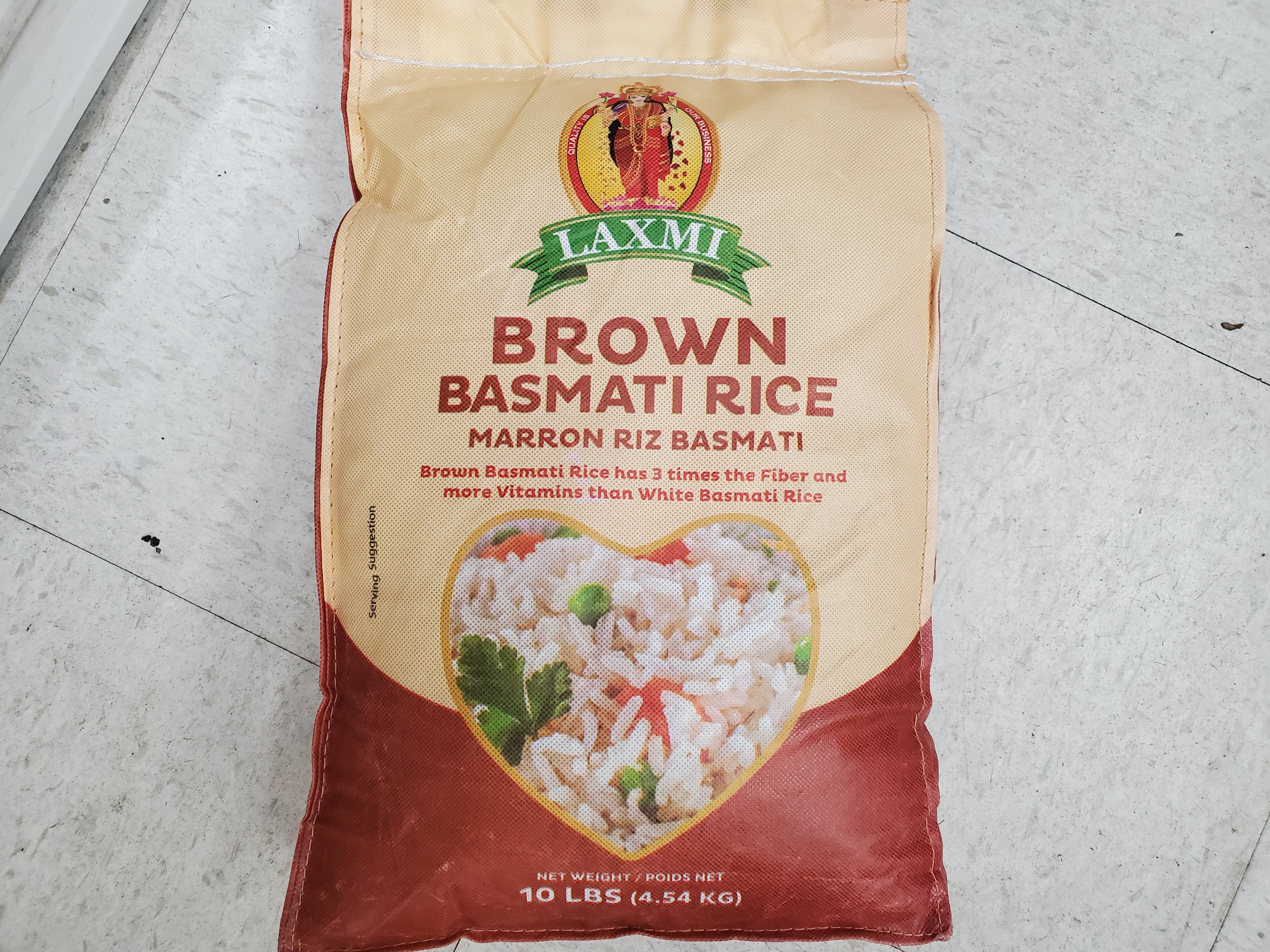LAXMI BROWN RICE 10lbs