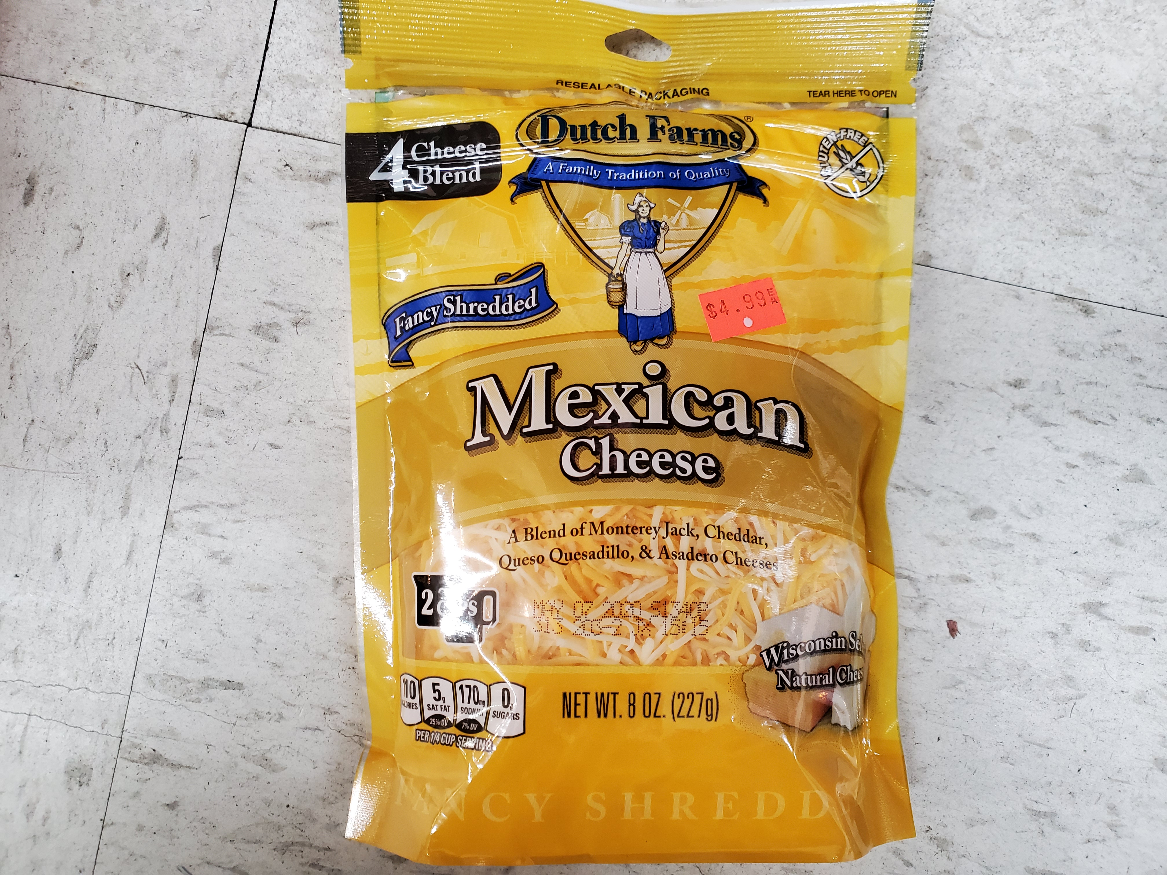 MEXICAN CHEESE 8 OZ