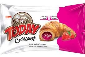Elvan Today Strawberry Croissants 6-Pack, 10.58oz/300g