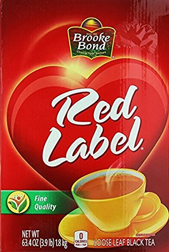 RED LABEL LOOSE LEAF TEA 63.4OZ 3.9 LB 1.8KG