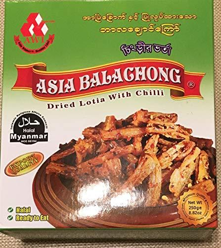 ASIA BALACHONG DRIED LOTIA WITH CHILLI 8.82OZ