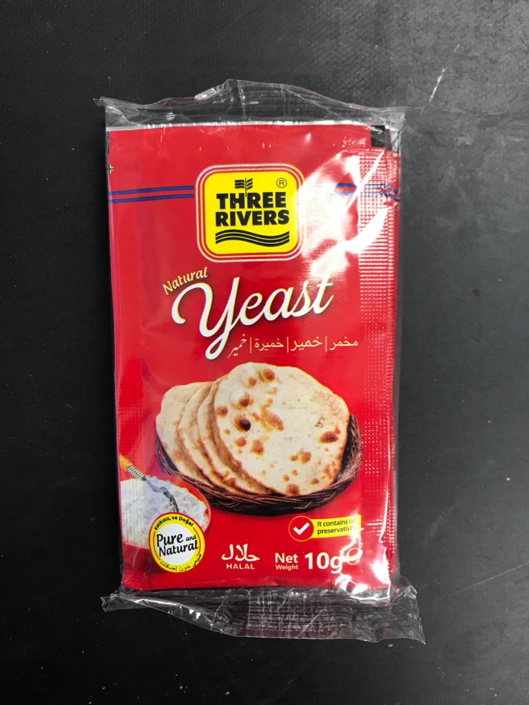 THREE RIVERS YEAST (10 gm)