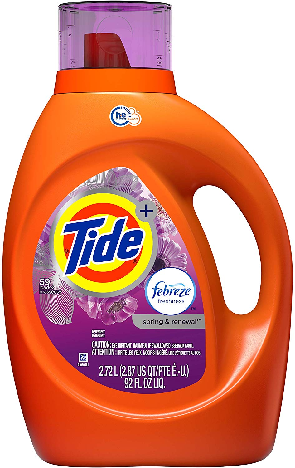 Tide Plus Febreze Freshness 2.72L 90FL OZ