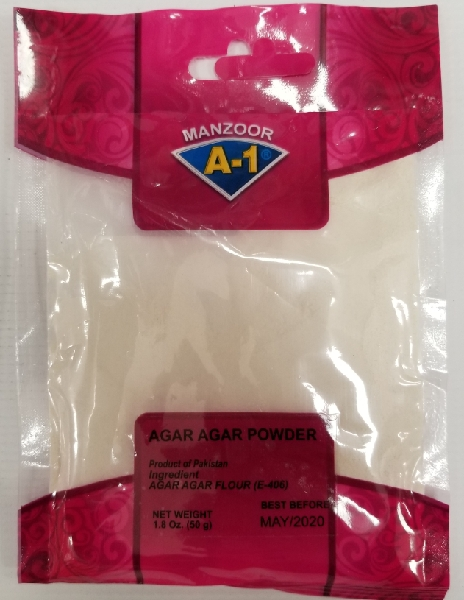 AGAR AGAR POWDER 50 gm