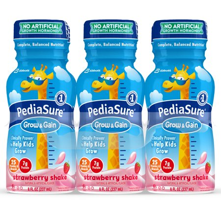 PEDIASURE STRAWBERRY SHAKE