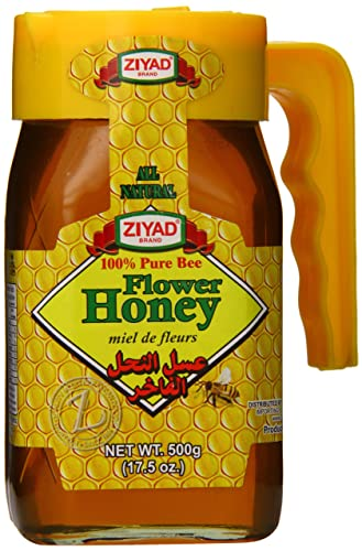 ZIYAD FLOWER HONEY 500 gm (17.5 oz)