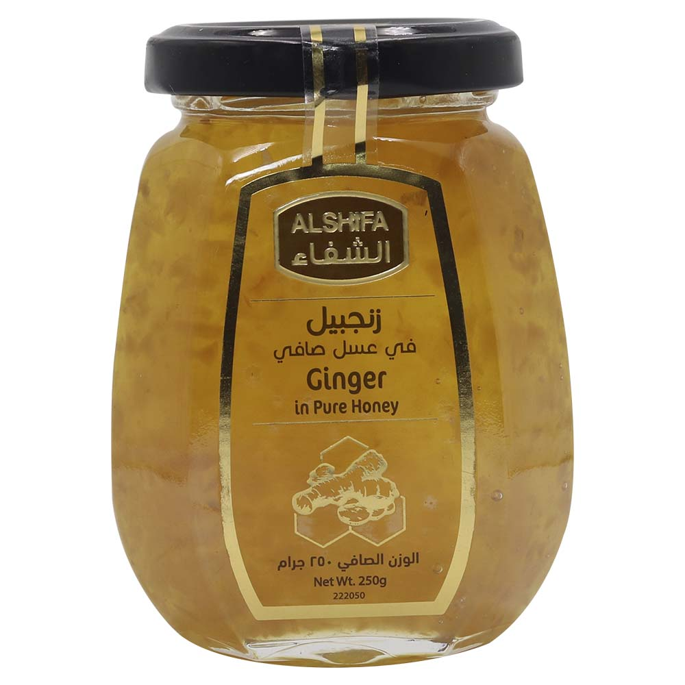 AL SHIFA GINGER HONEY 250 gm