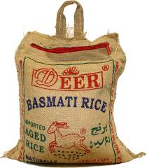 DEER BASMOTI RICE  10 LB