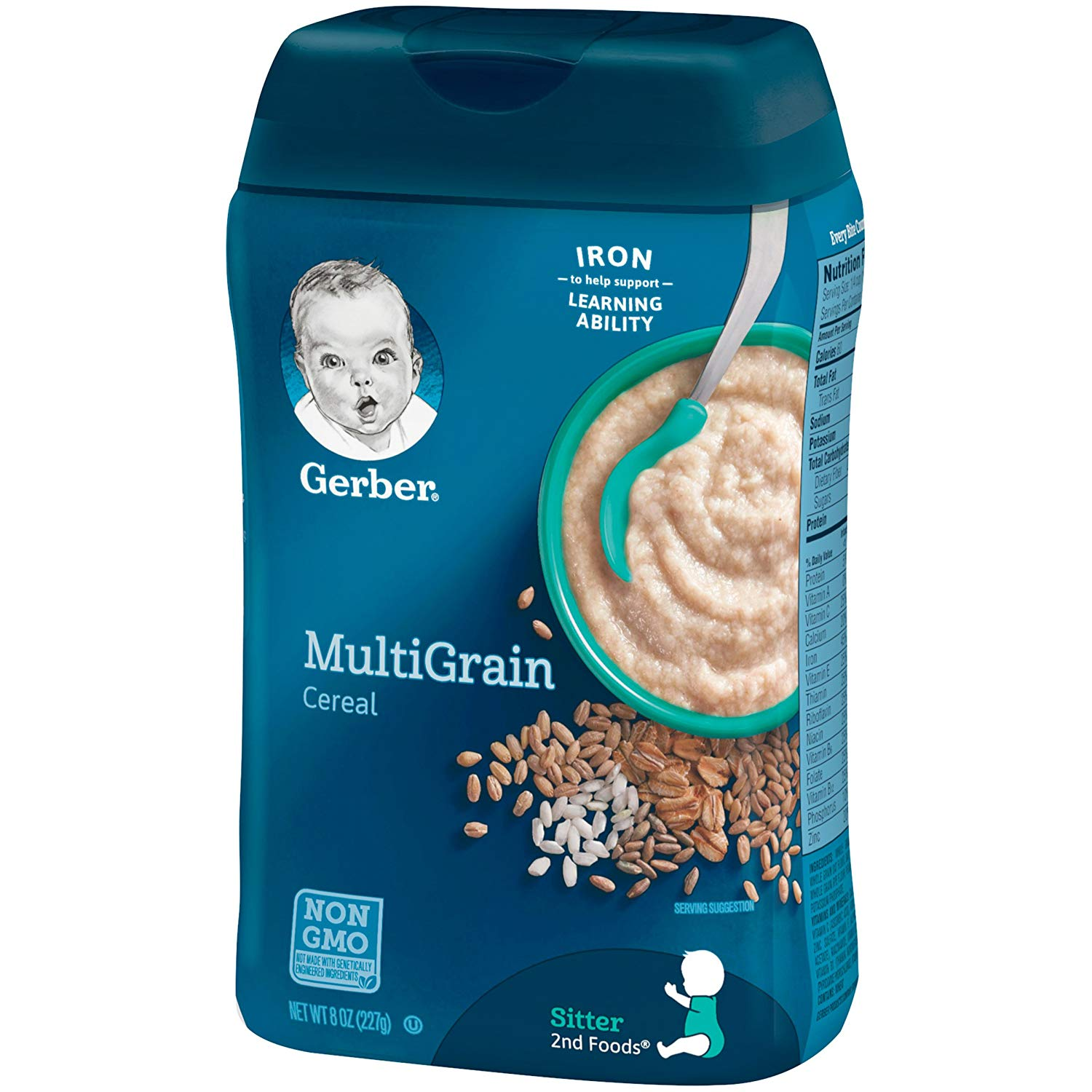 GERBER MULTIGRAIN CEREAL 8 OZ
