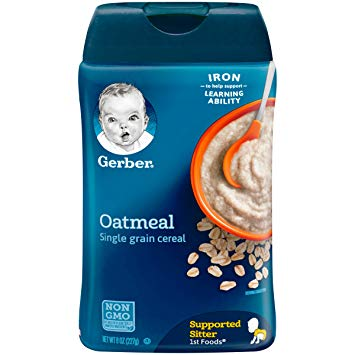 GERBER OATMEAL CEREAL SINGLE GRAIN 16OZ