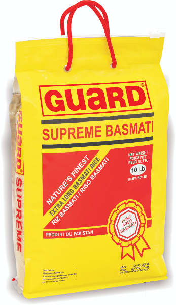 GUARD SUPERME BASMATI RICE10LB