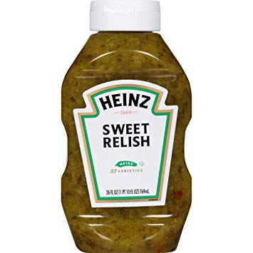 HEINZ SWEET RELISH 26oz