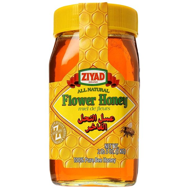 ZIYAD FLOWER HONEY 1 kg (2 lb 3 oz)