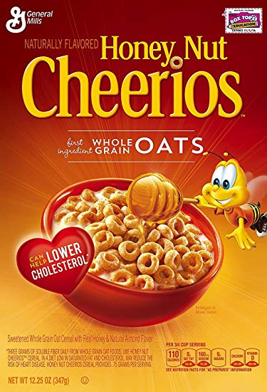 HONEY NUT CHEERIOS 15.4oz