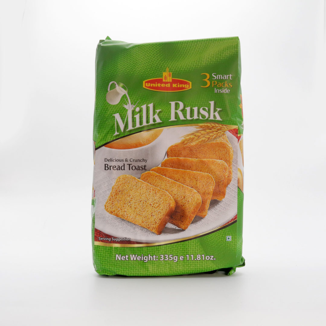 UNITED KING MILK RUSK (335gm)