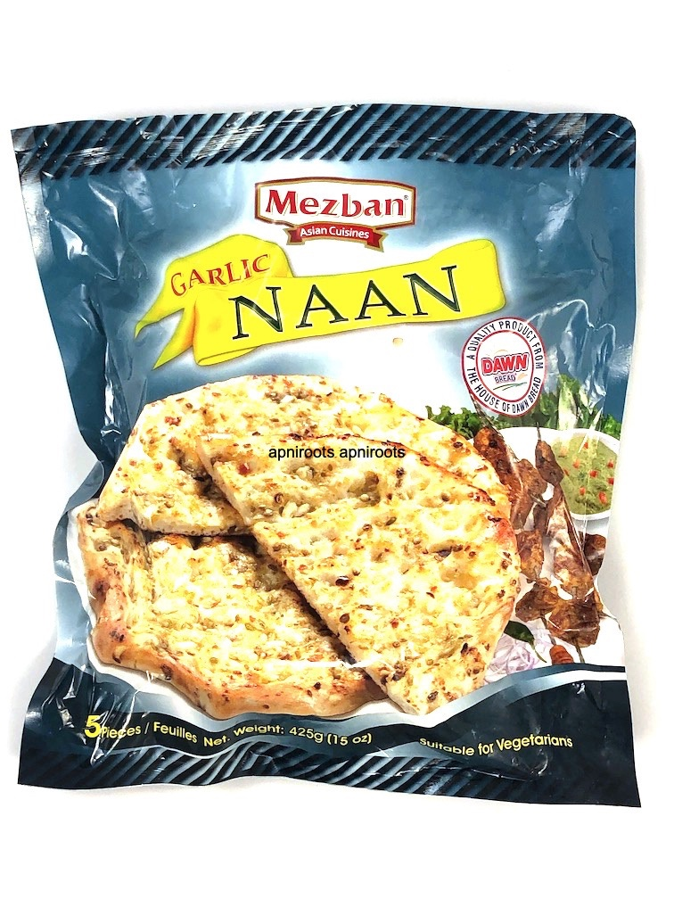 MEZBAN GARLIC NAAN 5 pcs