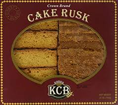 KCB CROWN BRAND CAKE RUSK 25oz