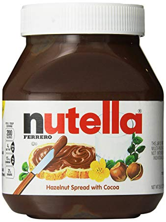 Nutella Ferrero Hazelnut Spread 7.7oz