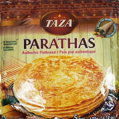 TAZA  PARATHAS WHOLE WHEAT 5 pcs