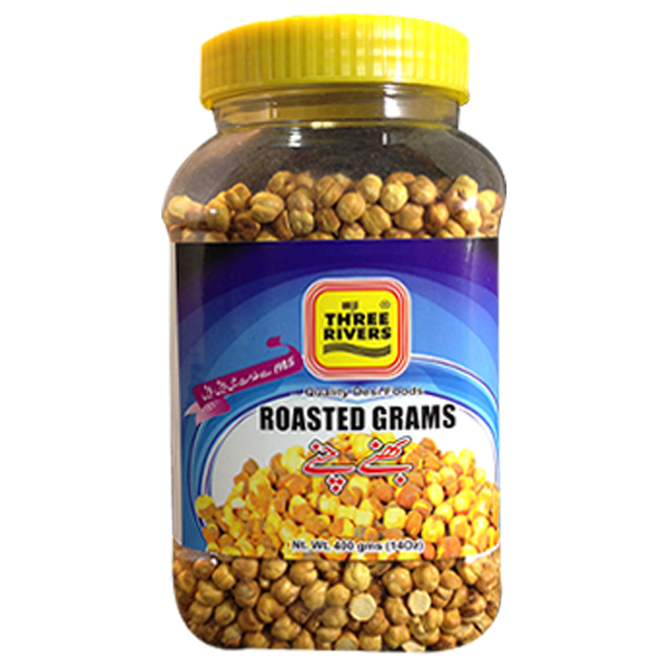 THREE RIVERS ROASTED GRAMS (400 gm)