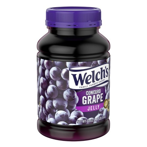 WELCH'S CONCORD GRAPE JAM 12oz
