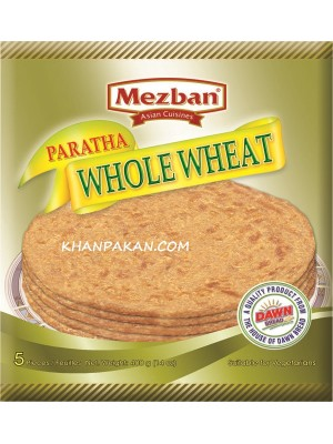 MEZBAN WHOLE WHEAT PARATHA 5 pcs