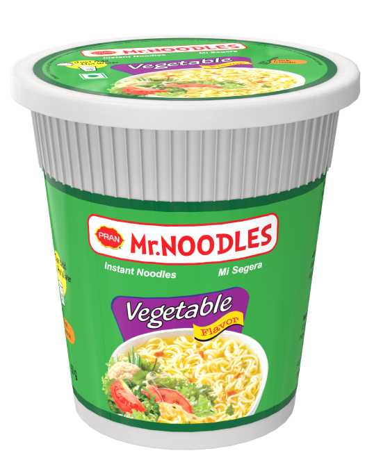 Mr.Noodles CUP NOODLES VEGETABLE FLAVOR