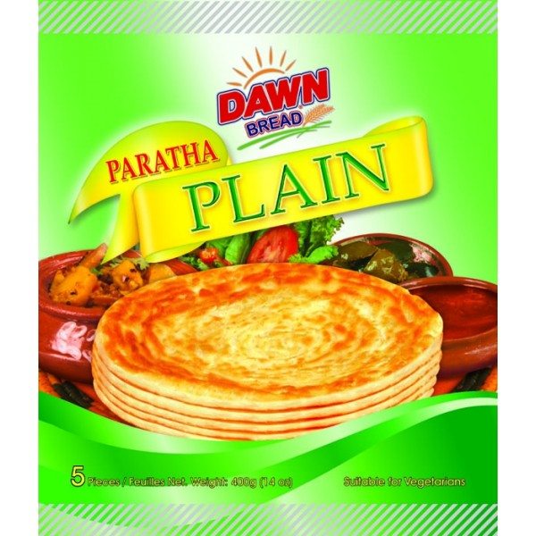 DAWN PLAIN PARATHA  5 pcs