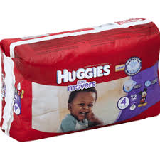 Huggies Little Movers Diapers Size 0-6
