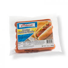 MIDAMAR Chicken Hot Dog 9pcs