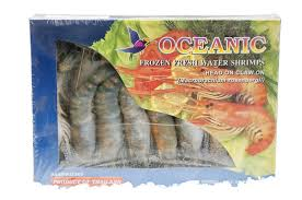 OCEANIC SHRIMPS HEAD ON 8/12