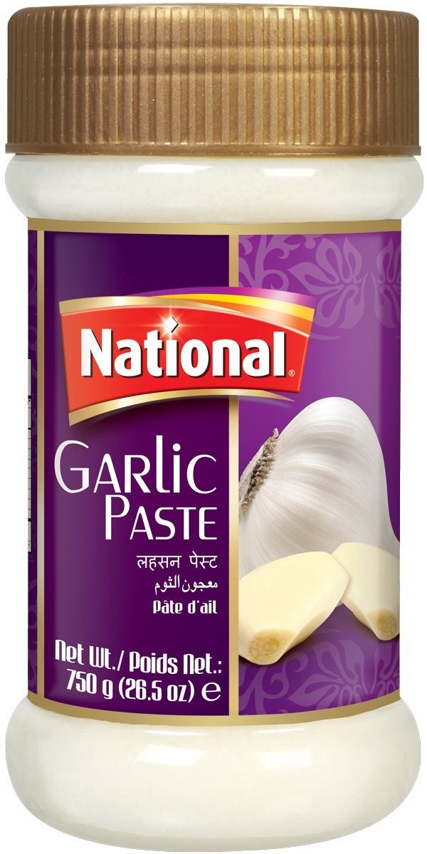 national  garlic paste 750gm