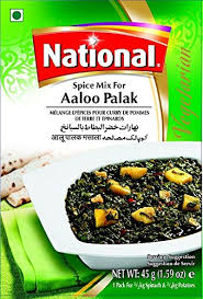 NATIONAL ALOO PALAK