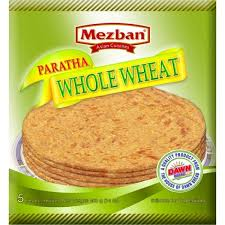 MEZBAN WHOLW WHEAT PARATHA 30PCS