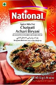 NATIONAL CHATPATI ACHARI BIRYANI