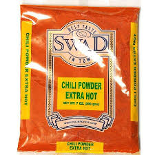 SWAD CHILLI POWDER EXTRA HOT 400G