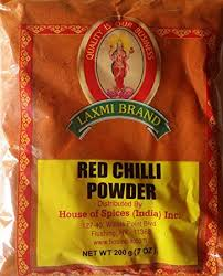 LAXMI RED CHILLI POWDER 4LB