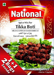NATIONAL TIKKA BOTI