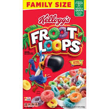 KELLOGGES  FROOT LOPS 286G