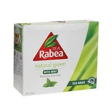 RABEA GREEN TEA 100 TBAGS