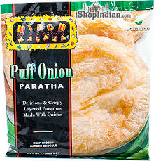 MIRCH MASALA PUFF ONION PARATHA 5pcs