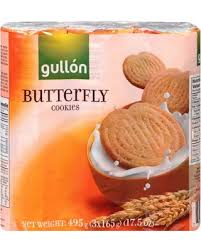 GULLON BUTTERFLY COOKIES 1LB