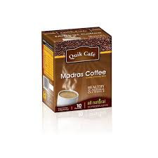 QUICK MADRAS COFFE 10 POUCHES